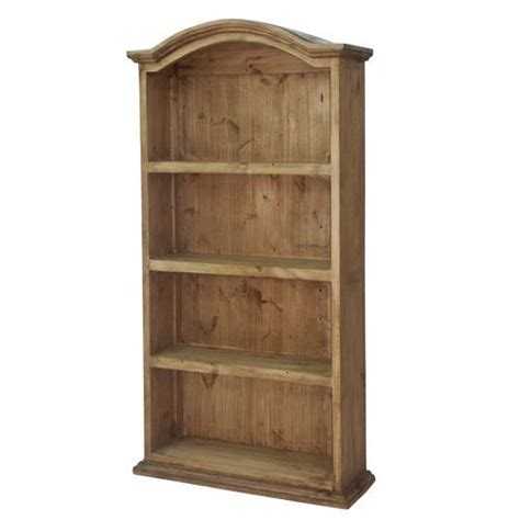 Mexican Bookcase by Segusino Mexican Pine Furniture Segusino Mexican Bookcase