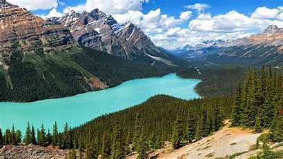 Rocky Mountains Canada Lake Park National Wallpapers