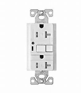 10 Pack Cooper Wiring Devices Trvgfnl20w Tamper Resistant