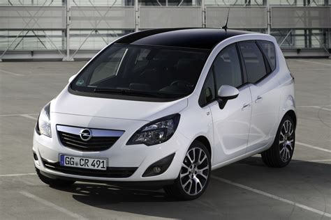 Opel Meriva by Opel Launches Meriva Color Edition Special In Germany