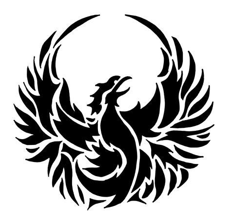 Are you interested in the phoenix spirit animal? Phoenix Bird Stencil | SP Stencils
