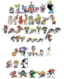Old Cartoon Network Characters