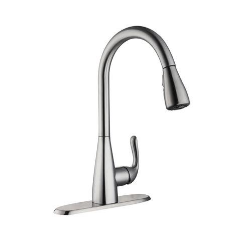 glacier bay pull  kitchen faucet installation