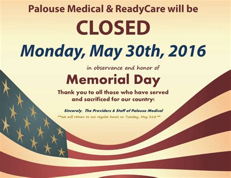 memorial day closed sign template special hours notices palouse page 3