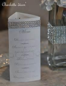 menu pour mariage menu pour décorer table de mariage faire part par decor projets à essayer