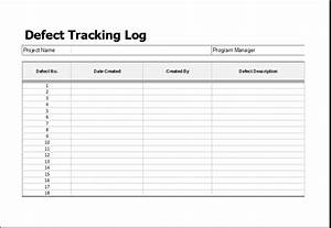 defect tracking log template for ms excel excel templates With defect checklist template