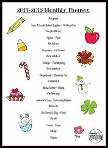 25+ best ideas about Preschool monthly themes on Pinterest ...
