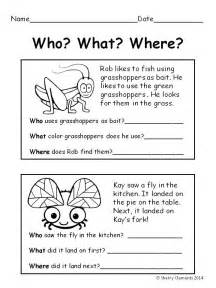 Short Story with Questions Grade 1 Reading