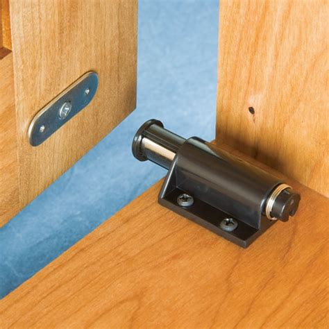 touch door lock single slide magnetic touch latch magnets by hsmag