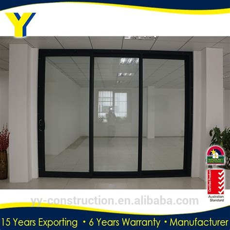 three panel sliding door used exterior doors for sale