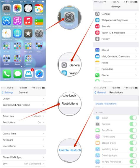 how to child lock iphone how to restrict app deletion with parental controls for