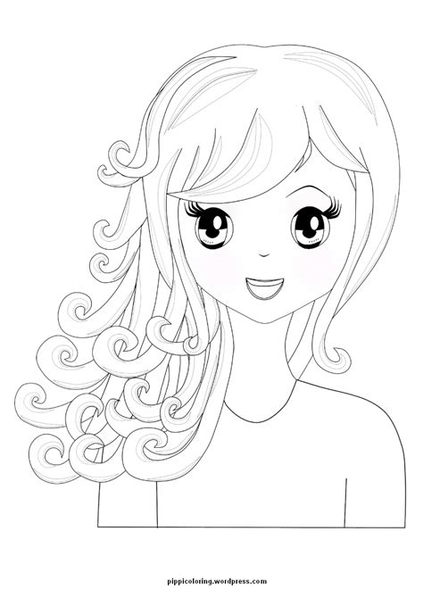 pippi pippis coloring pages