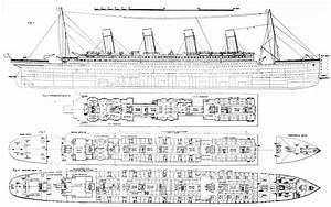 Inquiry Into The Loss Of The Titanic Cross Sections Of The ...