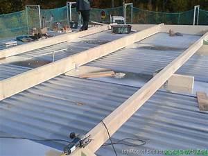 Hausdach Neu Decken Kosten : garagendach mit trapezblech trapezblechdach montieren mit ~ Michelbontemps.com Haus und Dekorationen