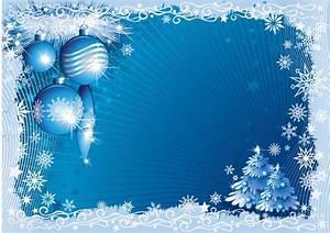 Blue christmas background 03 vector Free Vector / 4Vector