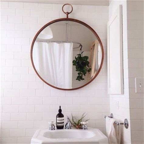 Circular Bathroom Mirrors by Following Feng Shui To A Better Bathroom