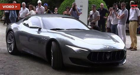 How Much Is A New Maserati by Maserati Alfieri Shows Its Sculpted At The Concorso D
