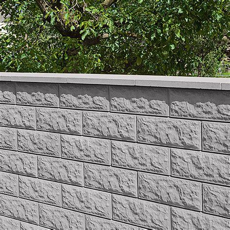 mauerabdeckung beton bauhaus mauerabdeckung satteldach grau anthrazit 50 x 30 cm beton bauhaus
