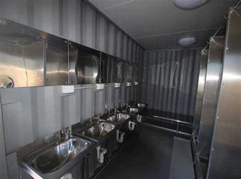 ablution blocks modified ablution units  portable toilets