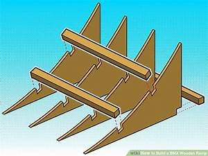 How To Build A Bmx Wooden Ramp 5 Steps With Pictures
