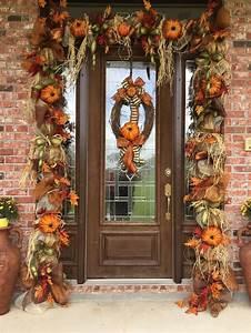 Fall, Door, Garland, Fall, Swag, Thanksgiving, Door, Decor, Fall