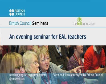 seminar  eal teachers seminar teacher