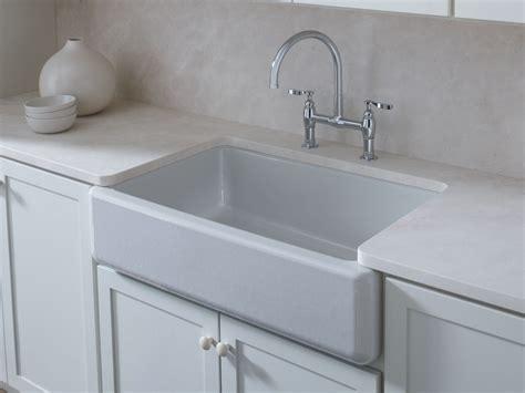 standard plumbing supply product kohler k 6489 58 whitehaven self trimming apron front single