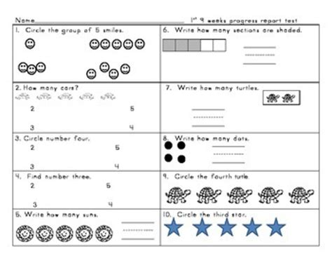 kindergarten envision math topic    test  vicki