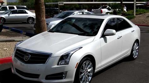 2013 Cadillac Ats, Premium With Performance, White Diamond, Lund Cadillac, Phoenix, Az 85022