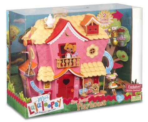 Lalaloopsy House - mga mini lalaloopsy sew sweet house playhouse with