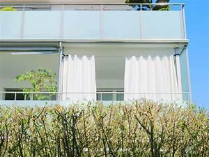 Gardinen Auf Schienen : outdoor vorhang santorini nach mass weiss ~ Indierocktalk.com Haus und Dekorationen