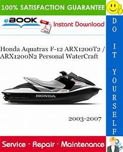 Honda Aquatrax F  Arx1200n2 Personal