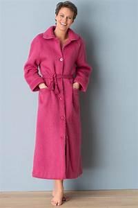 robe de chambre femme acrylique With robe de chambre boutonnée femme