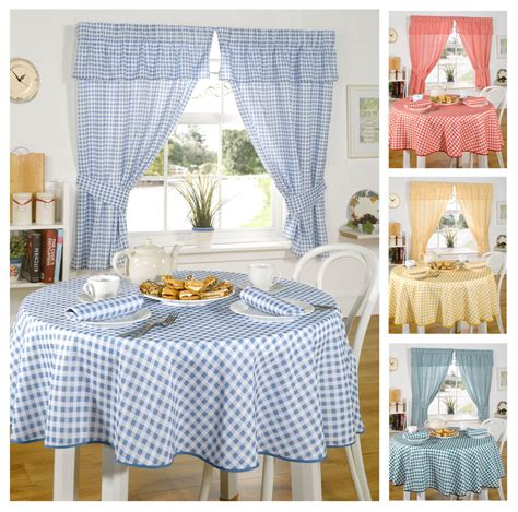 pink kitchen tablecloth molly gingham check kitchen linen in 4 colours