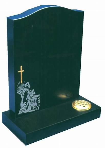 Granite Headstone Cross Sandblasted Memorials Headstones Shepherd