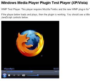 Windows Media Player Plugin Voor Firefox Onder Vista En Xp