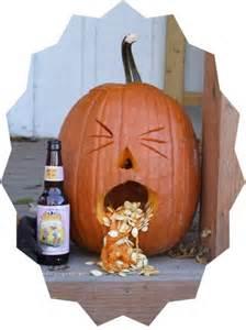 Puking Pumpkin Design