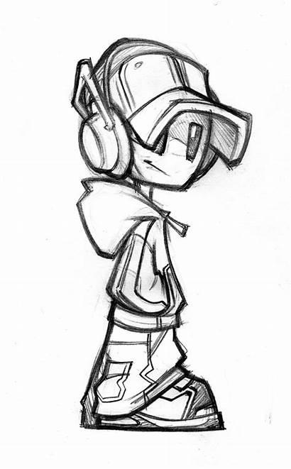 Graffiti Cartoon Drawings Drawing Mascot Characters Character