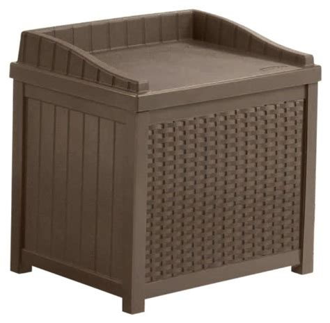 space saving patio storage bench seats