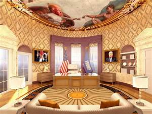 Trump's Plans For an Oval Office Makeover, White House