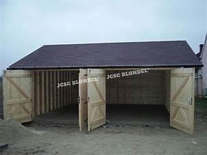 Garage Montereau : abris de jardins 89 m tal charpente sur poteaux garages bois garage m tal agrandissement ~ Gottalentnigeria.com Avis de Voitures