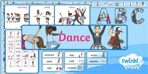 * New * Twinkl Move Pe  Ks1 Dance Display Pack Perform
