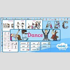 * New * Twinkl Move Pe  Ks1 Dance Display Pack Perform