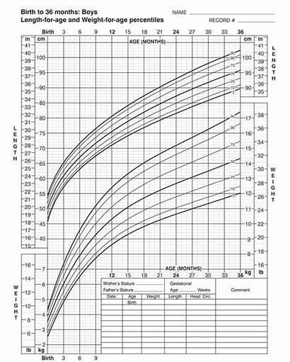 Growth Chart Printable Charts Boys Pdf Birth