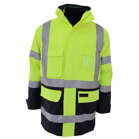 COS HiVis 6 in 1 Bio Motion Tape Jacket XL