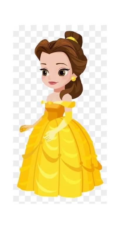 Princess Belle Clipart Pinclipart Clip