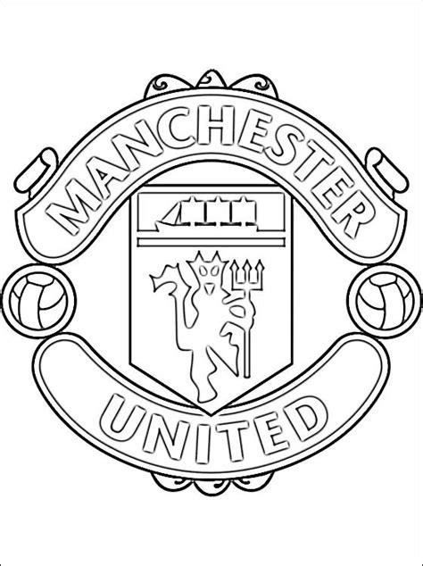 Coloriage Logo de Manchester United dessin gratuit à imprimer
