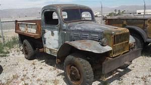 1942 Dodge Power Wagon Truck   U00be Ton 4x4 W  Dump Bed  Runs