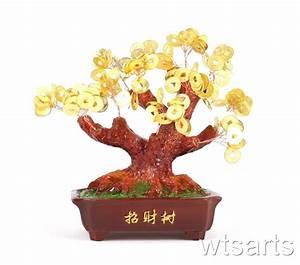 Geldbaum Feng Shui : kunstharz geldbaum 18cm m nzen baum feng shui gesundheit ebay ~ Bigdaddyawards.com Haus und Dekorationen