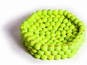 Hugh Hayden Design Recycled Tennis Ball Dog Bed ...
